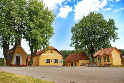 Náves v Čenkově