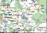 Mapa s polohou obce Čenkov